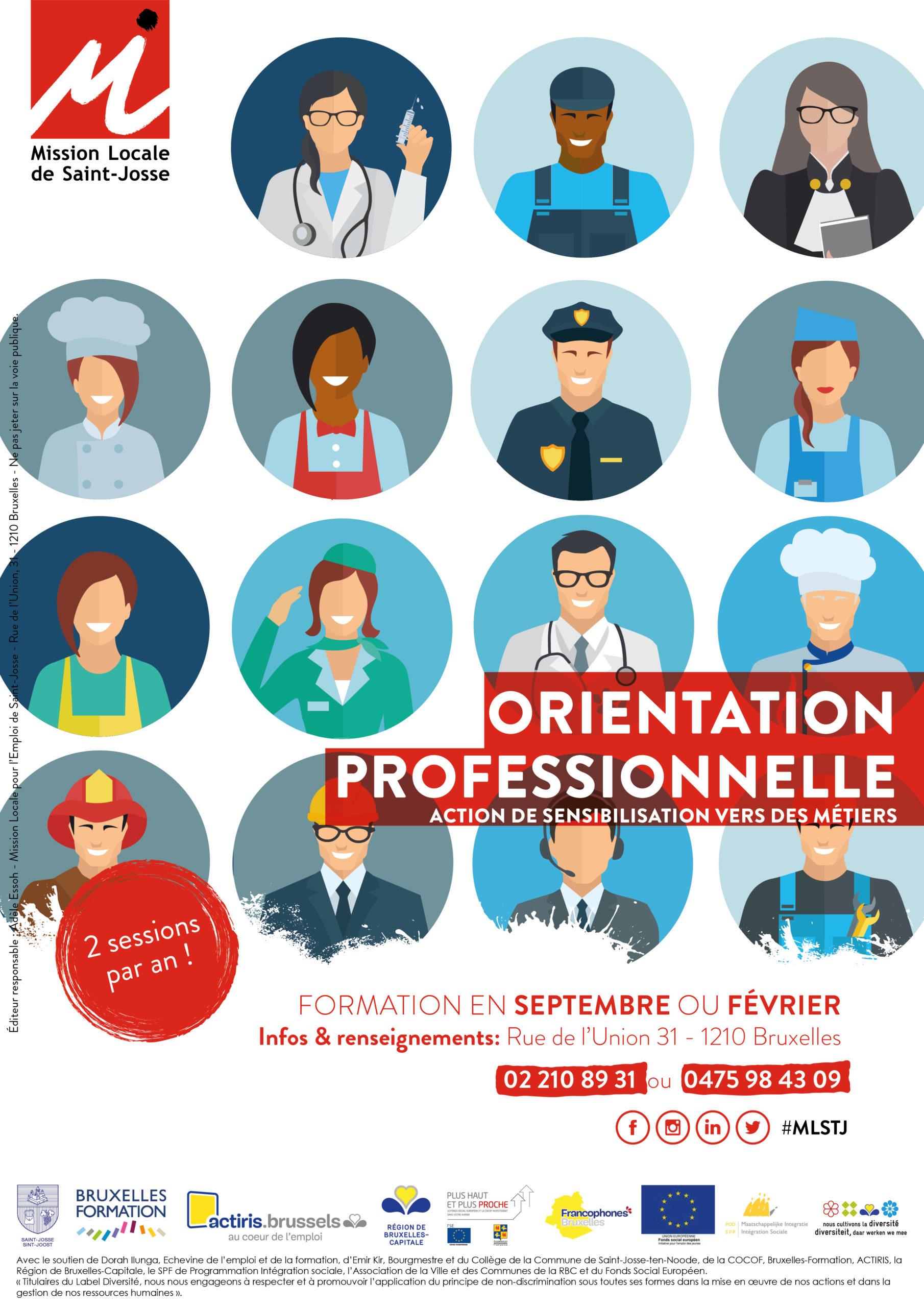 Affiche orientation professionnelle