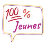 logo 100%jeunes