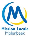 Logo Mission locale Molenbeek