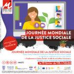 Affiche Journée Mondiale de la Justice Sociale